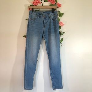 Old Navy Medium Wash Skinny High Rise Jeans